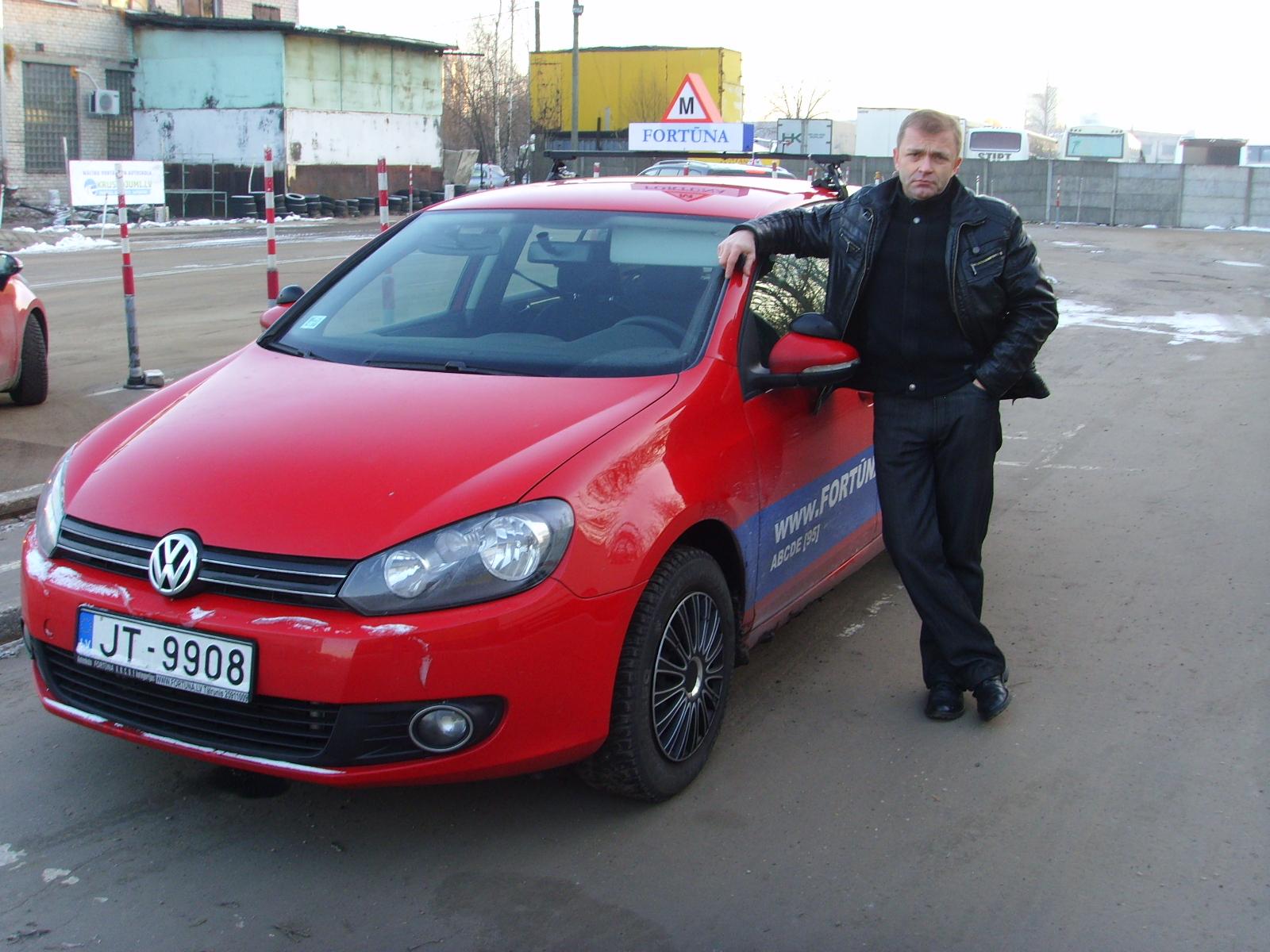 Jaunums mācību VW GOLF
