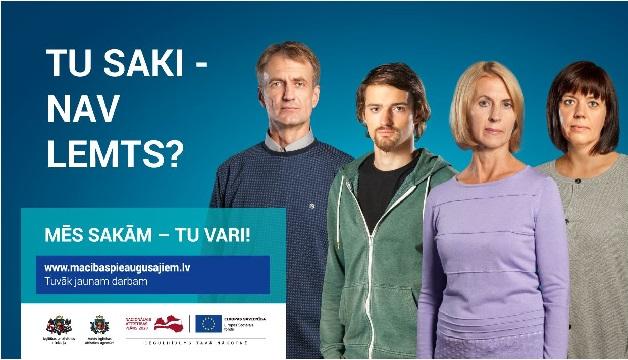 PIEAUGUŠO IZGLĪTĪBA -PIEDĀVĀJUMS TIKAI 15.08.-17.09.2018.